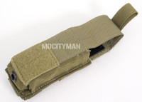 Eagle  Industries USMC Single Pistol Mag Pouch for .45 or 1911 - Coyote - MC-S45P-COY - USA Made