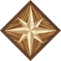 Compass Mint Zebrawood 18""