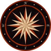 "Sailors Wheel - Eclipse 74"" (Paduak)"