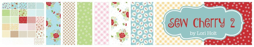 Sew Cherry 2 by Lori Holt for Riley Blake