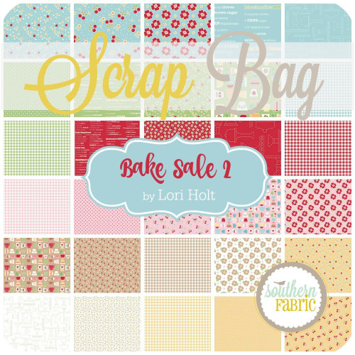 Bake Sale 2 Scrap Bag (approx 2 yards) by Lori Holt for Riley Blake (LH.BS.SB)