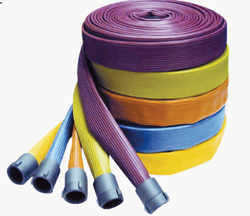 Rubber Covered Attack Hose with Aluminum Couplings