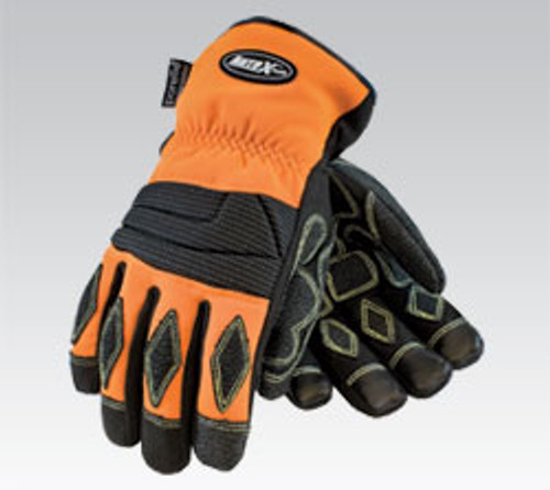 Extrication Glove, Orange, Kevlar Stitching, Melt Resistant