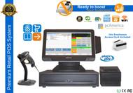 Premium Flower & Garden Store POS System With VFD Customer Display
