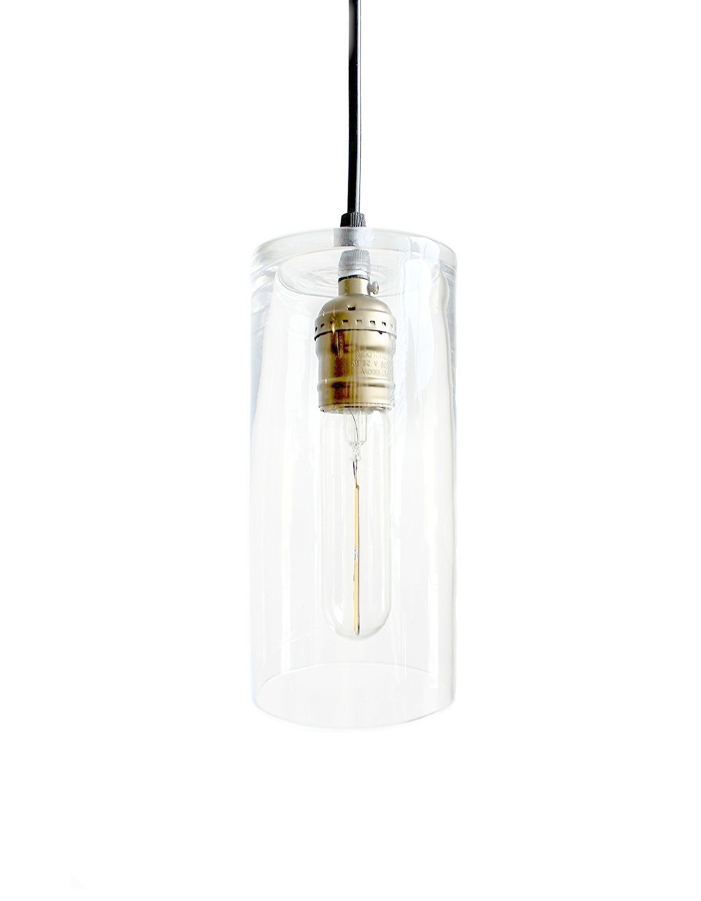 Glass Pendant Industrial Lighting - Farmhouse Kitchen Island Bar Drop Light  hanging, Hurricane Pendent Lighting - Glass Pendant Industrial Lighting - Farmhouse Kitchen Island Bar