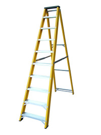Lyte GFBB10 10 Step Fibreglass Ladder from Toolden