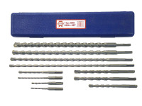 Faithfull SDS Plus Drill Bit Set 11 Piece 5-20mm