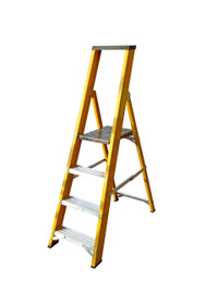 Lyte GFBP4 4 Tread Fibreglass Ladder from Toolden