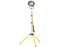 Faithfull Power Plus Single Tripod Site Light 500 Watt 240 Volt