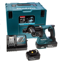Makita DHR242RMJ 18V Brushless SDS Machine 2X 4.0Ah Batteries & Charger from Toolden