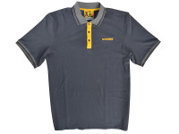 Roughneck Clothing Grey Polo Shirt - XXL (50-52in)| Toolden
