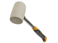 Roughneck Non Marking White Rubber Mallet 454g (16oz)