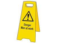 Scan Danger Men At Work Heavy-Duty A Board