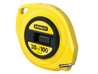 Stanley Tools Closed Case Steel Tape 30m / 100ft (Width 9.5mm)