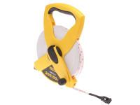 Stanley Tools Open Reel Fiberglass Tape 60m / 200ft (Width 13mm)| Toolden