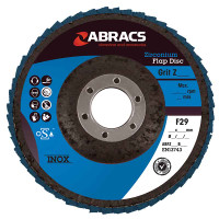 Abracs Zirconium Flap Disc 115mm x 40G