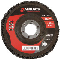 Abracs 115mm Poly Disc - Black