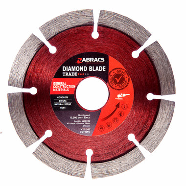 Abracs ABDD115M Trade General Purpose Diamond Blade 115mm