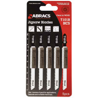 Abracs Jigsaw Blades for Wood T144D - 5 Pack