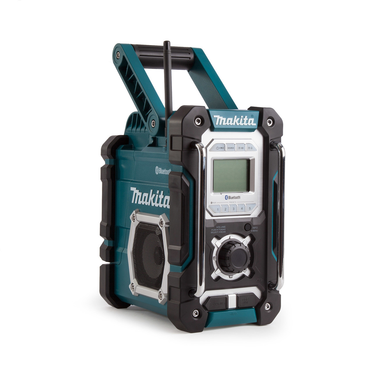 makita dmr108 jobsite bluetooth usb radio toolden. Black Bedroom Furniture Sets. Home Design Ideas