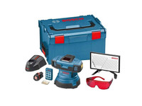 Bosch GSL2SET GSL Motorised Floor Surface Laser Full Kit in L-Boxx from Toolden