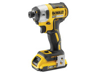 DeWalt DCF887D2 XR Brushless 3 Speed Impact Driver 18 Volt 2 x 2.0Ah Li-Ion from Toolden