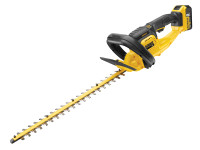 DeWalt DCM563P1 Cordless Hedge Trimmer 18 Volt 1 x 5.0Ah from Toolden