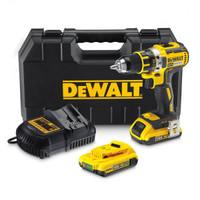DeWalt DCD790D2 Compact Brushless Drill Driver 18 Volt 2 x 2.0Ah Li-Ion from Toolden