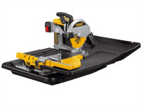 DeWalt D24000 Wet Tile Saw with Slide Table 1600 Watt 240 Volt from Toolden