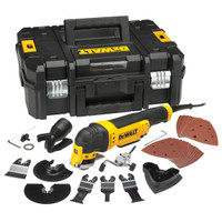 DeWalt DWE315KT Multi-Tool Quick Change Kit & TSTAK 300 Watt 240 Volt from Toolden
