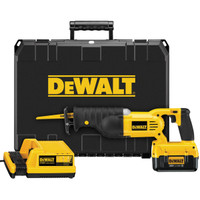 DeWalt DC305M2 Cordless Reciprocating Saw & Kit Box 36 Volt 2 x 4.0Ah Li-Ion | Toolden