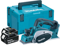 Makita DKP180RMJ 18v 82mm Planer with 2x4ah Li-Ion Batteries from Toolden