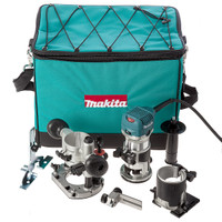 Makita RT0700CX2 240v Router Trimmer + 2 Bases from Toolden