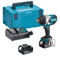 "Makita DTW1002RTJ 18v 1/2"" Brushless Impact Wrench 2x5 From Toolden"