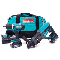 Makita DLX2025M 18v DHR202/DHP453 Twin Pack with 2 x 4.0Ah Batteries