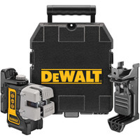 Dewalt DW089K 3 Way Self-Levelling Ultra Bright Multi Line Laser from Toolden