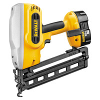 Dewalt DC618KB 18V Heavy Duty Cordless Nail Gun Kit from Toolden