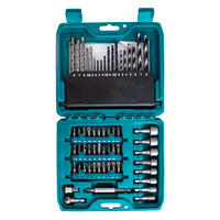 Makita P-90358 Pro Power Drill 60 Piece Accessory Set