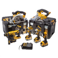 DeWalt DCK699M3T XR 6 Piece Kit 18v 3 x 4.0Ah Li-Ion from Toolden.