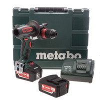Metabo SB18LTX Cordless Impuls Combi Drill 2 x 5.2Ah Li-ion Batteries from Toolden