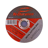 N-Durance Metal Cutting Disc 125 x 3 x 22.2mm from Toolden.