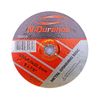 N-Durance Metal Grinding Discs Depressed Centre (5 Pack) 230 x 6 x 22.2mm from Toolden.