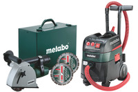 Metabo MFE30 + ASR35MACP 240V Wall Chaser & Vac from Toolden
