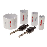 Makita D-34861 6pce Holesaw Kit | Toolden