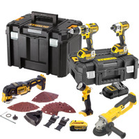 Dewalt TDKIT5x4 18v XR 5 Piece Kit 3 x 4.0Ah Batteries