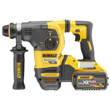 Dewalt DCH333X2 54v 9.0Ah XR FLEXVOLT SDS+ 3 Mode Rotary Hammer Drill from Toolden