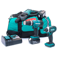 Makita M33 18v 3 Piece kit with 2 x 4.0Ah Batteries