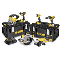 DeWalt DCK691M3 18V 4.0Ah Li-Ion Cordless 6-Piece Kit XR from Toolden