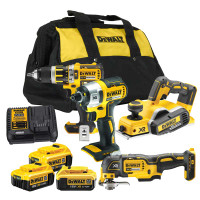 DeWalt XR 18V 4 Piece Brushless Kit from Toolden.