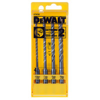 Dewalt Extreme 2 SDS Plus Drill Bit Set 4 Piece 5.5-10mm from Toolden